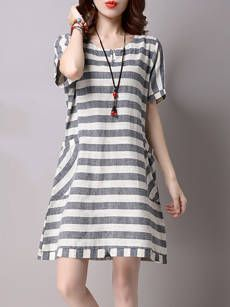 Buy Asymmetric Hem Color Block Two-Piece Shift Dress online with cheap prices and discover fashion Shift Dresses at Fashionmia.com.