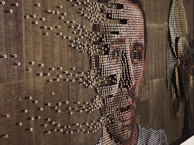 Andrew Myers - Art made from screws