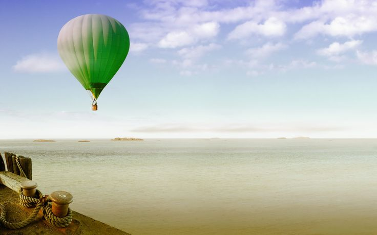 Photography Backgrounds In High Quality: Hot Air Balloon by Lorcan Handler, August 8, 2015