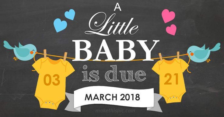 Get week by week and specific information for estimated due date, March 21 2018!