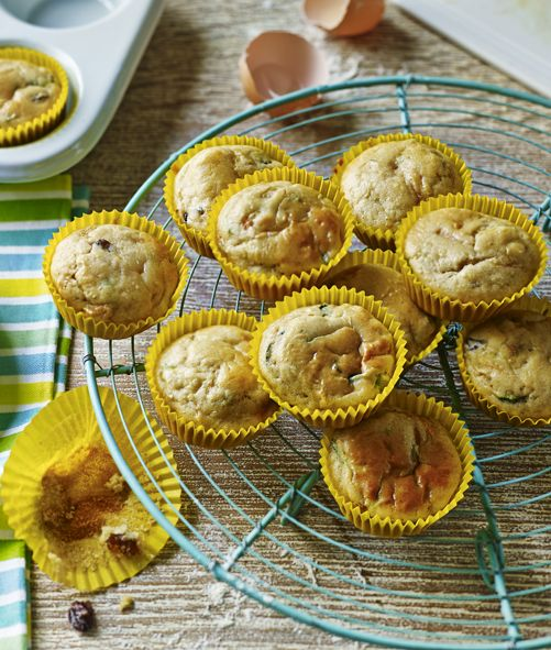 Carrot and courgette muffins: moist, yummy and perfect for the kids' lunchboxes
