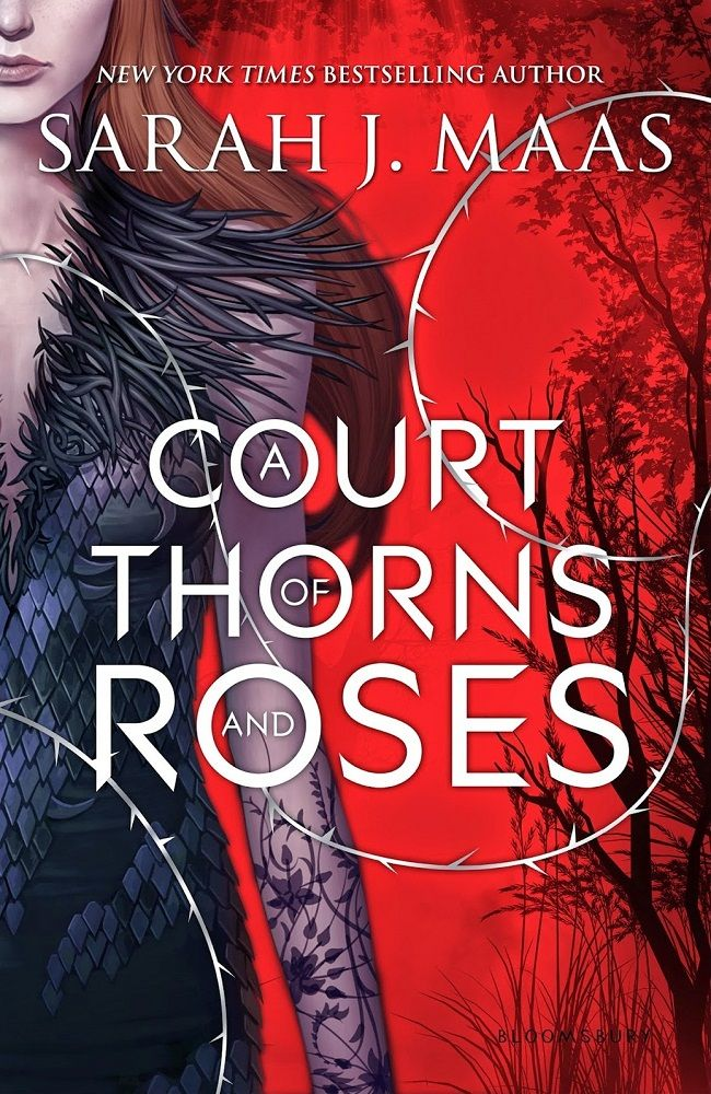 A Court of Thorns and Roses (A Court of Thorns and Roses, 1) - Sarah J. Maas https://www.goodreads.com/book/show/16096824-a-court-of-thorns-and-roses