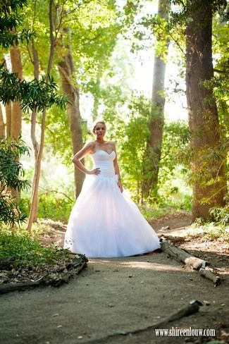 Outdoor Picnic Garden Wedding Franschhoek {Real Bride} | Confetti Daydreams - Forest bride shot at Solms Delta Franschoek Wine Estate ♥ #Outdoor #Garden #Wedding #Picnic #RealBride