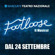Footloose il musical, tratto dall'omonimo film cult del 1984 con un giovanissimo e esordiente Kevin Bacon, arriva in Italia al Barclays Teatro Nazionale di Milano a partire dal 24 settembre 2016. Acquista ora il tuo biglietto su TicketOne.it!