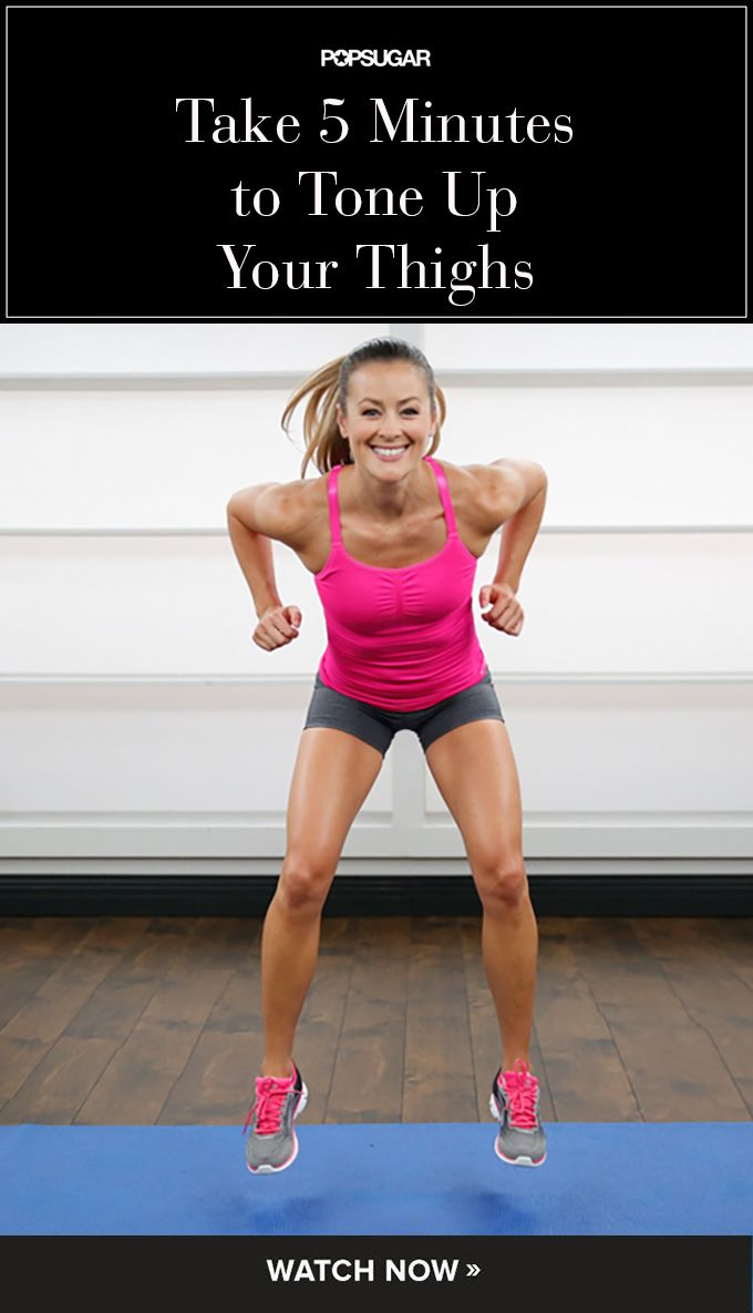 Take 5 Minutes to Tone Up Your Thighs