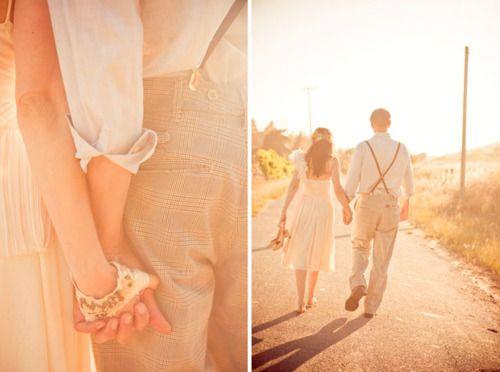 suspenders: Farms Wedding, Vintage Wedding, Hold Hands, Vintage Wardrobe, Vintage Photo, Vintage Inspiration, Photo Editing, Photo Effects, Vintage Style