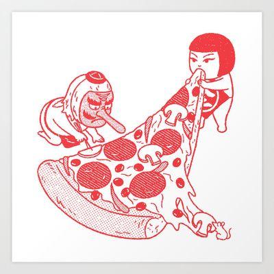 P+is+for+Pizza  Kimiaki Yaegashi