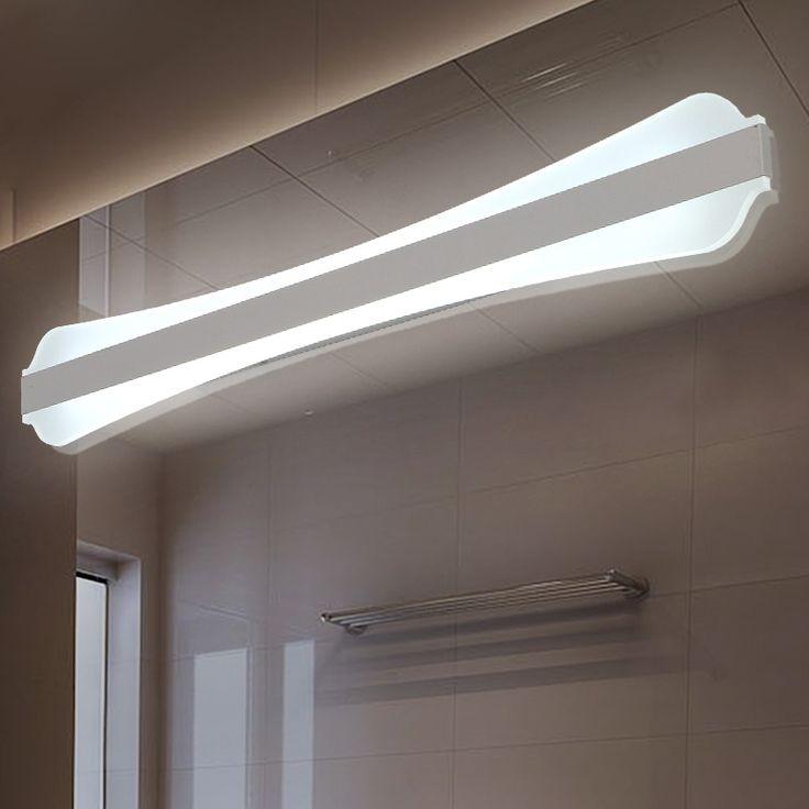 47.20$  Watch here - http://ali4ka.shopchina.info/go.php?t=32651903138 - 85V - 265VAC led mirror lights lamp Mirror cabinet lights SMD5730 LED Dress mirror acrylic bedroom bathroom shop lighting 47.20$ #buyonline