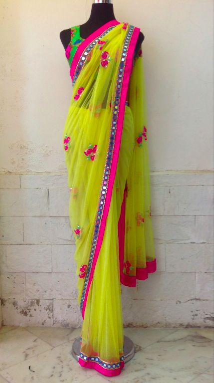 Beautiful Saree by Arpita Mehta on her Site http://arpitamehta.in/
