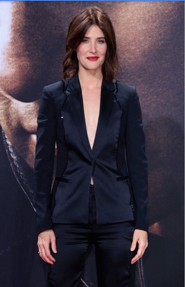 Cobie Smulders Jack Reacher: Never Go Back Berlin Premiere CineStar Sony Center  October 21, 2016