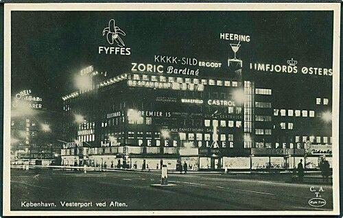 Vesterport 1937. Foto Theil