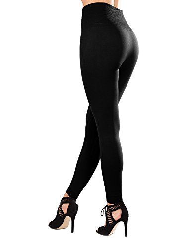 0b48f54cb63998 Sejora High Waist Compression Slimming Warm Fleece Lined Leggings #leggings  #tights #pants #fashion #clothing #womenfashion