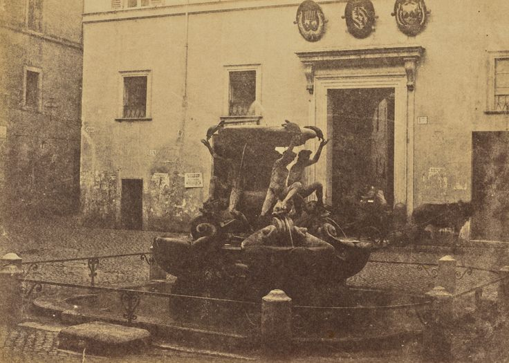 Tartarughe Fountain, Rome, 1856 - 1859,