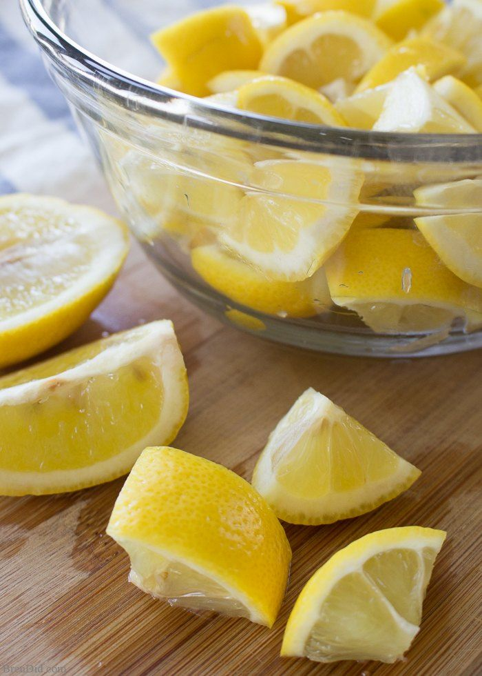 How to Make Dishwasher Detergent with Lemons