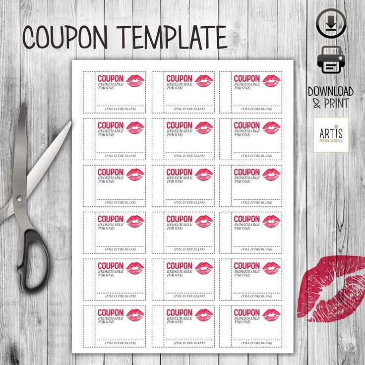 making a coupon book for boyfriend