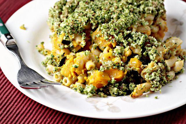 Broccoli-Basil Mac and Cheese
