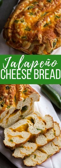 Jalapeno Cheese Bread is the cheesy, spicy deliciousness you need with every meal. From sandwiches to garlic bread, this loaf goes with everything.