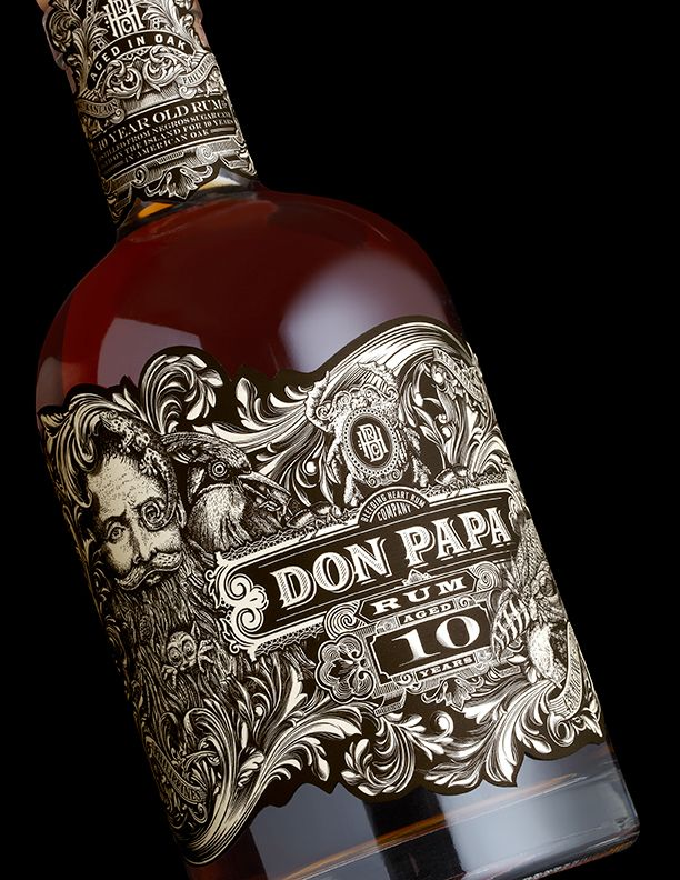 Don Papa 10 Year Old on Packaging of the World - Creative Package Design Gallery