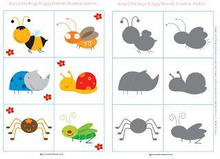 Autismus Arbeitsmaterial: Figur und Schatten - visuelle Wahrnehmung