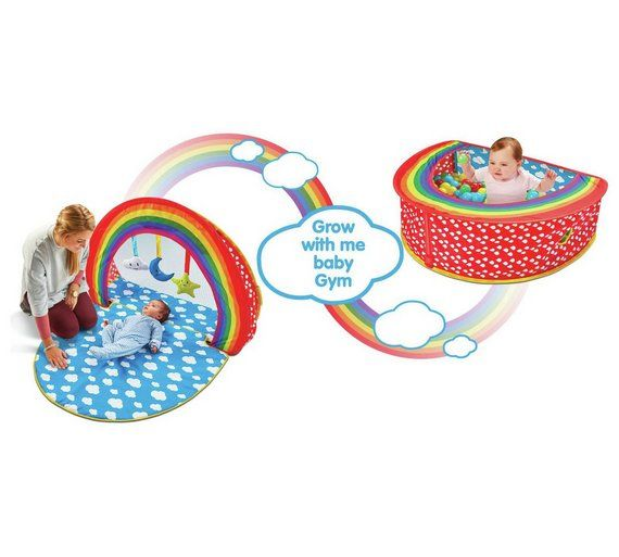 Gym Mats Argos: Buy Chad Valley Baby 2 In 1 Play Gym And Ball Pit At Argos