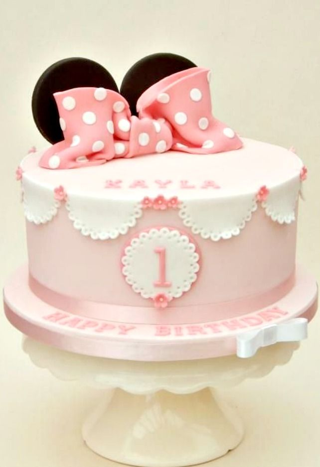 17 Best images about Minnie Mouse Pink Cakes on Pinterest ...