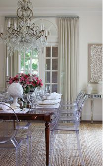 1000 ideas about neutral dining rooms on pinterest beautiful dining rooms white chairs and - Stylish modern dining sets for neutral toned interior ...