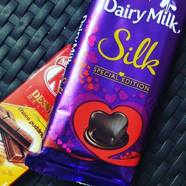 Follow Me Misha Verma Dairy Milk Chocolate Dairy Milk Silk Chocolate Milk