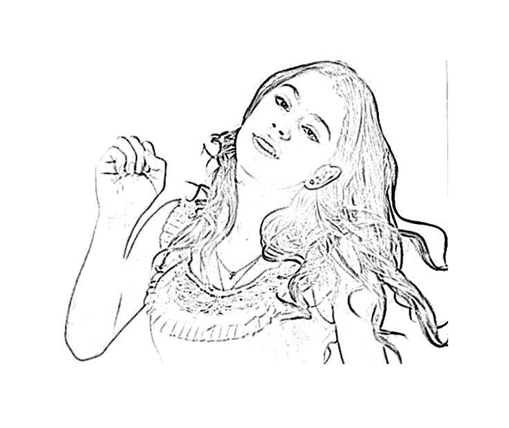 pour imprimer ce coloriage gratuit coloriage violetta disney 4 cliquez
