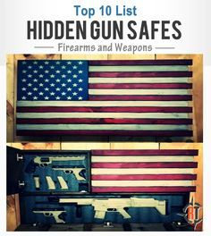 Hidden gun storage is a great way to add to the look of your home while keeping firearm security in the forefront, check out these cool safes we found.