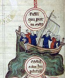 "25 November 1120 off Barfleur on the coast of Normandy, the ""White Ship"" ran onto a reef, drowning the English crown prince William Ætheling, four of his siblings and 300 others."