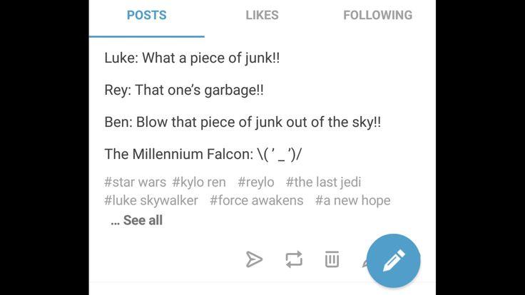 I made dis  Tumblr: ZiggySkywalker   star wars the last jedi rey ben solo reylo