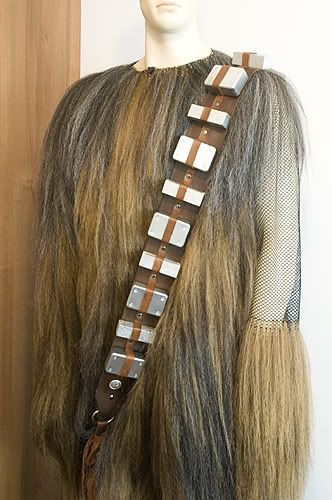 Homemade Chewbacca Suit