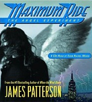 """If you are having trouble getting a kid to read, I recommend this series.  About teens whose DNA is spliced with avian (bird) DNA.  They escape from the government facility where they have spent their whole lives.  They start searching for their biological parents. But they are chased by kids with DNA spliced with wolf DNA.  Bad guys.  Great """"good over evil"""" stories!: James Patterson, Worth Reading, Book Art, Maximum Ride, Books Worth, James D'Arcy, 1St Book"""