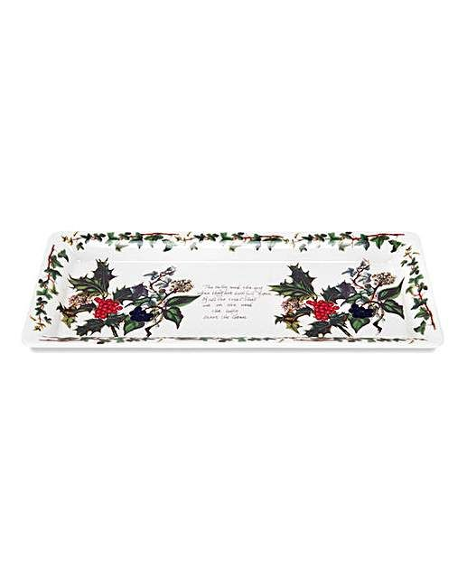 The Holly & The Ivy Sandwich Tray | Fifty Plus