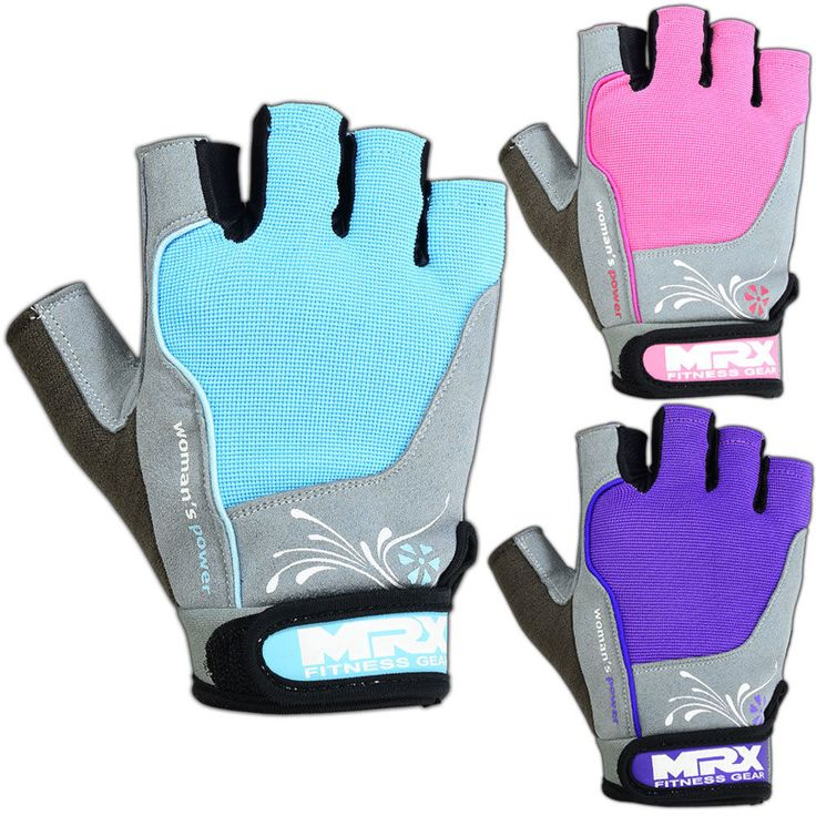 Weight Lifting Gloves Training Gym Womens Fitness Glove Straps Amara Leather