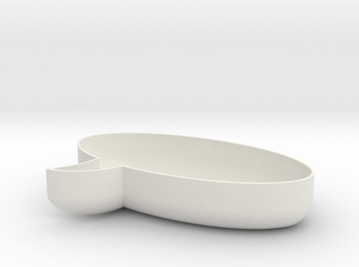 Let's talk! Customizable Oval Chat Bubble Bowl 3d printed. #madebymagnusgreni