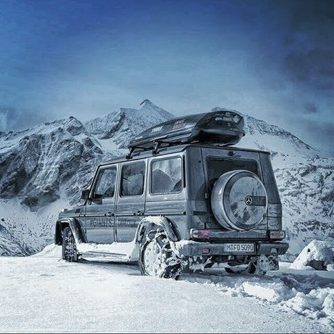 Winter is coming and Adventure awaits you so are you ready ?  #MBPhotoCredit: @peterlintner #MercedesBenz #G-Class #SUV, #luxury 📷: @mbusa