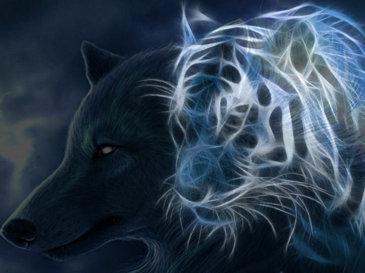 202 best images about Animals Fractal on Pinterest | Wolves ...