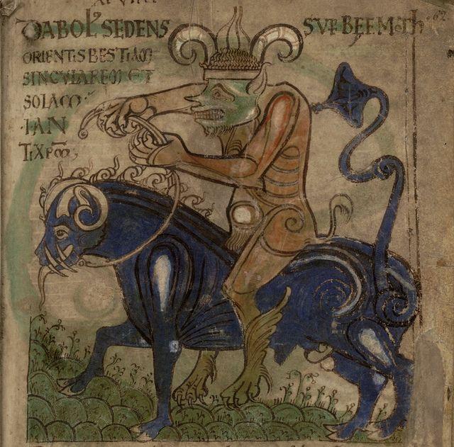 Liber Floridus - devil bull | Flickr - Photo Sharing!