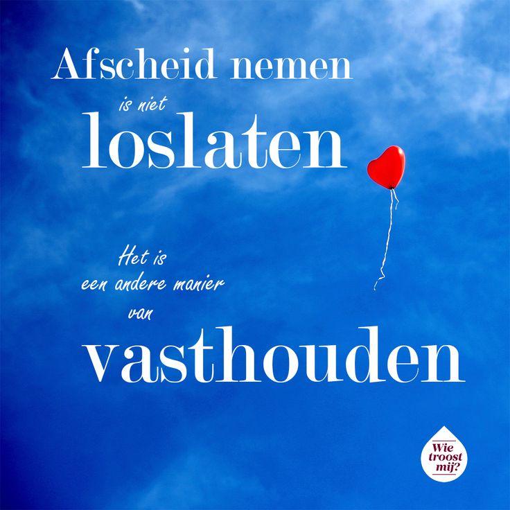 Loslaten of vasthouden? Het is de kunst de balans te vinden... Hoe vind jij die balans na het overlijden van een dierbare? Praat mee op www.wietroostmij.nl. #loslaatdag