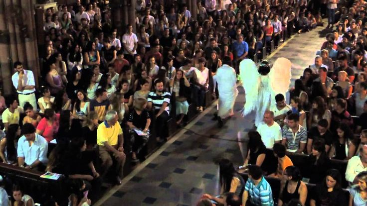 """01 - Teatro San Damian """"Anunciación a María"""" + Coro Capuchino """"Siempre t..."""