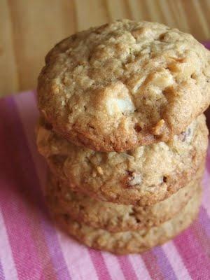 PECADO DA GULA: Cookies de aveia, macadâmia e coco