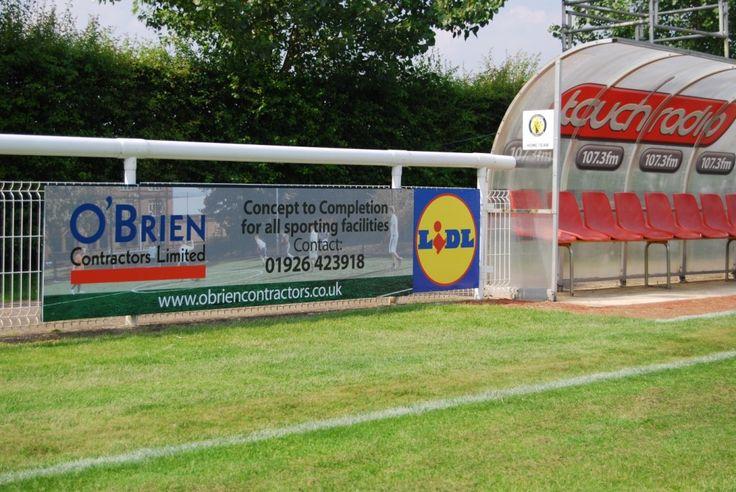 Sports pitch contractors sponsor Leamington FC