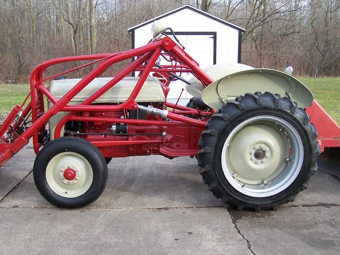 Ford 9n 2n 8n Discussion Board 8n Done Loader Almost Ford
