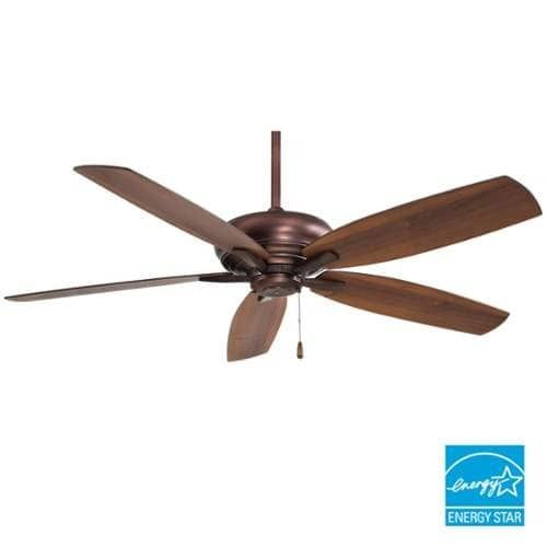 MinkaAire Kola-XL 5 Blade 60 Kola-XL Energy Star Ceiling Fan - Handheld Remote Control and Blades Included (