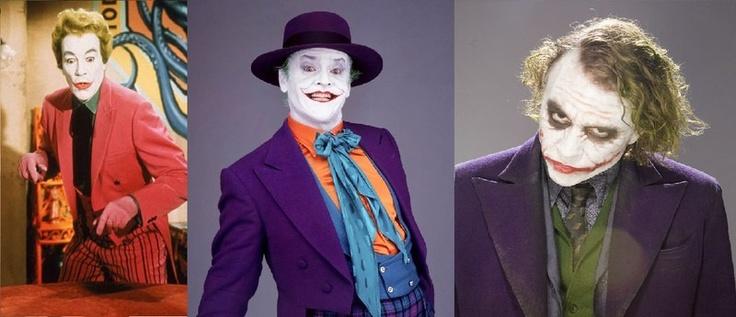Cineast: Джокеры разных лет