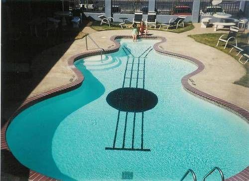 #elvis #elvispresley #pool #pools #guitars #guitar #graceland