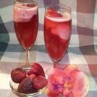 Fraises au champagne