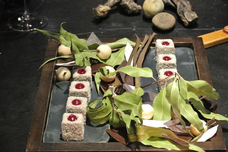 vue de monde's strawberry, licorice, coconut