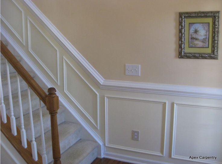 Stair Trim Stairs Trim Wainscoting Styles Dining Room